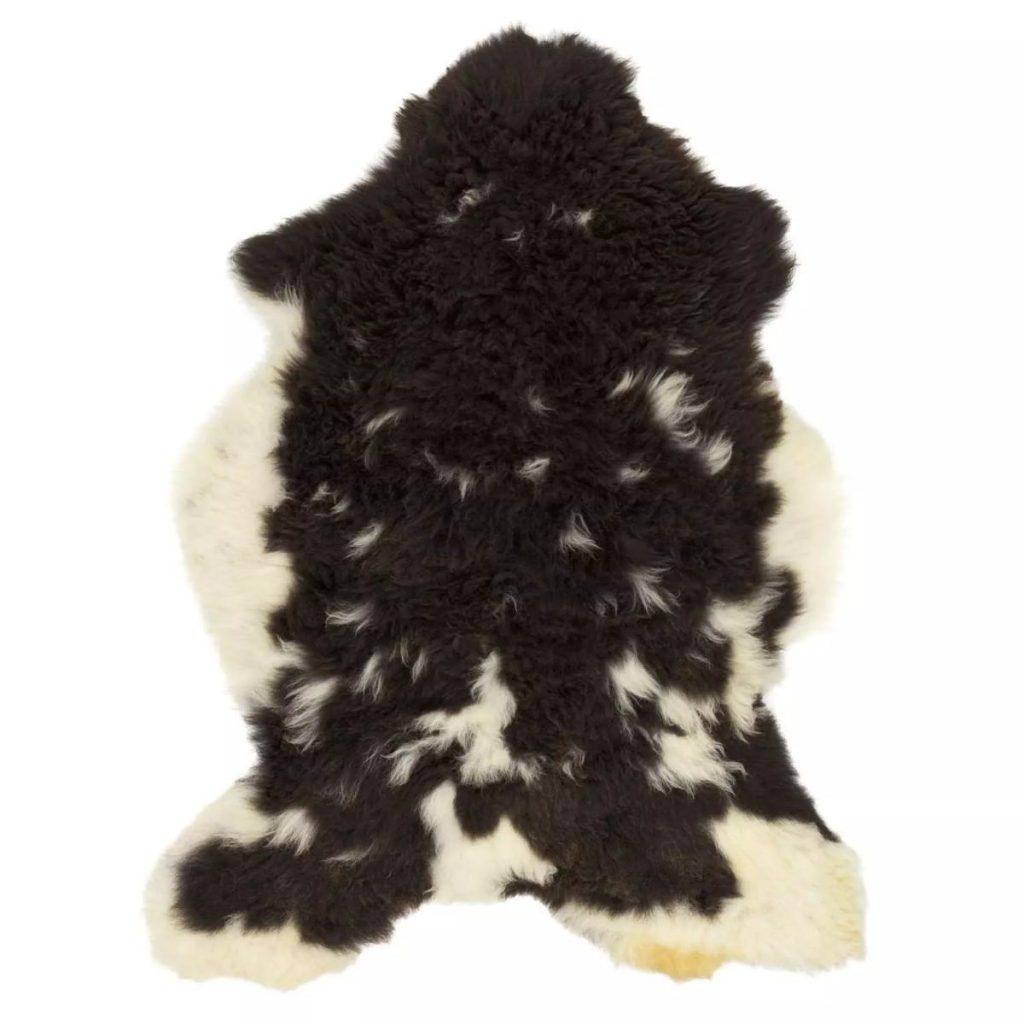 Icelandic Sheepskin – Black & White