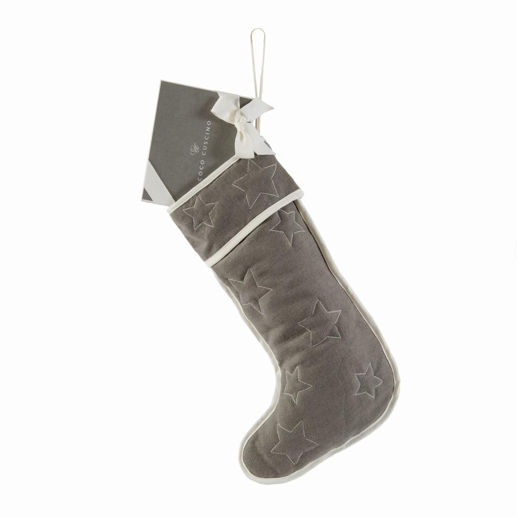 Coco Classic Stocking (grey)