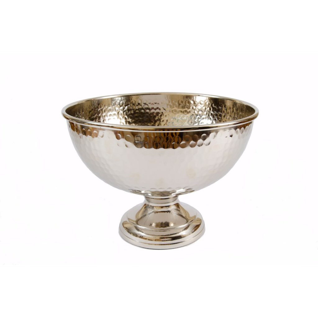 Decorative Silver Bowl (large)