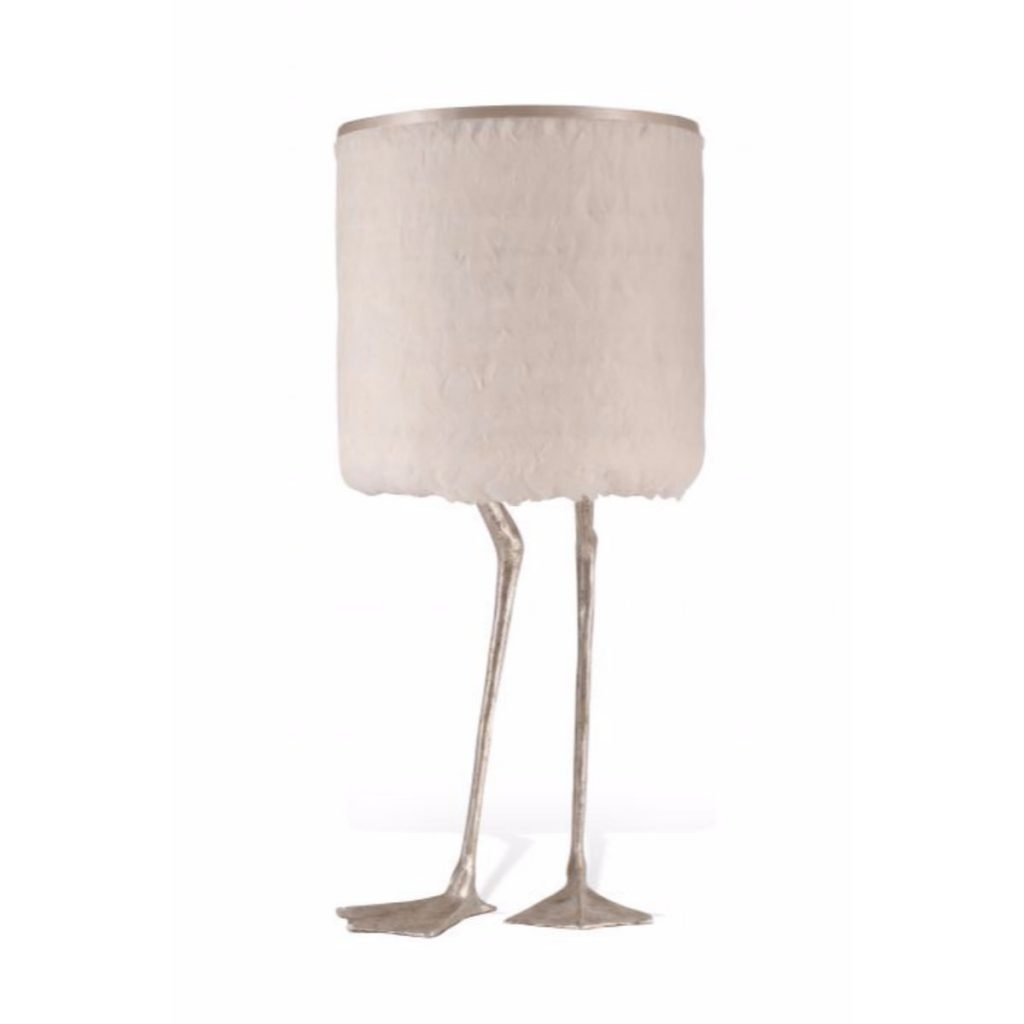 Duck Feet Lamp (decayed silver)