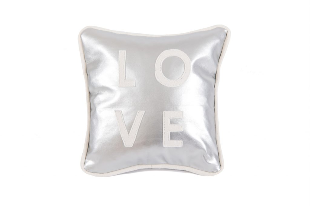 Little Love Cushion (silver)
