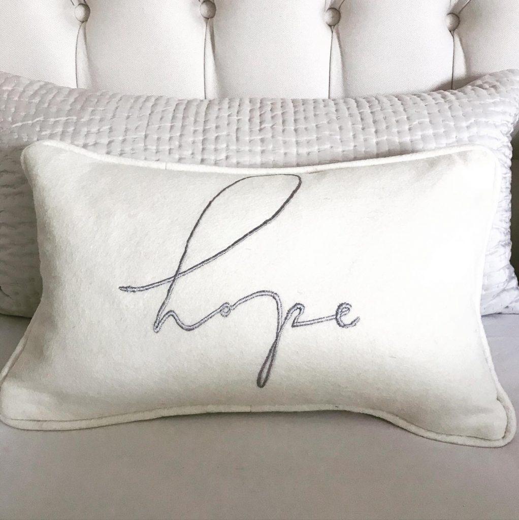 Rainbow Hope Cushion