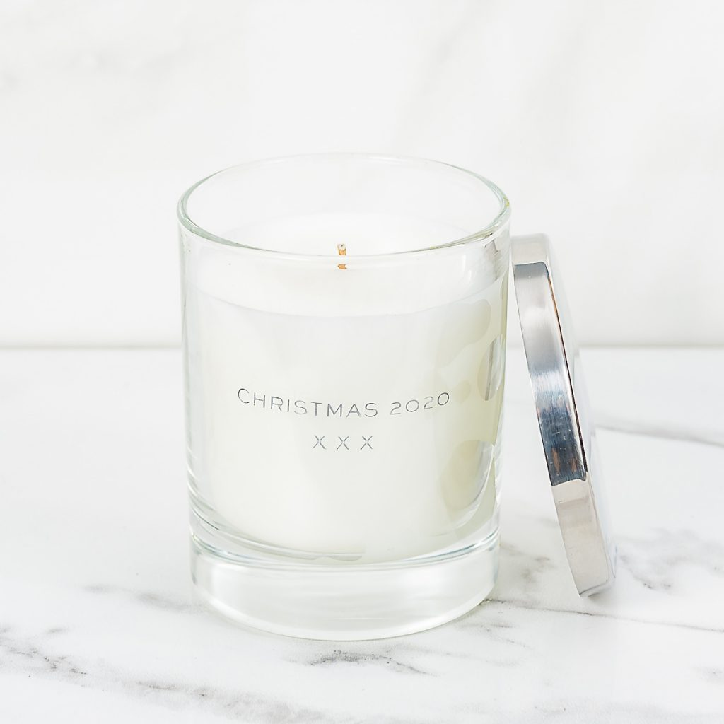 Personalised Candle – Christmas