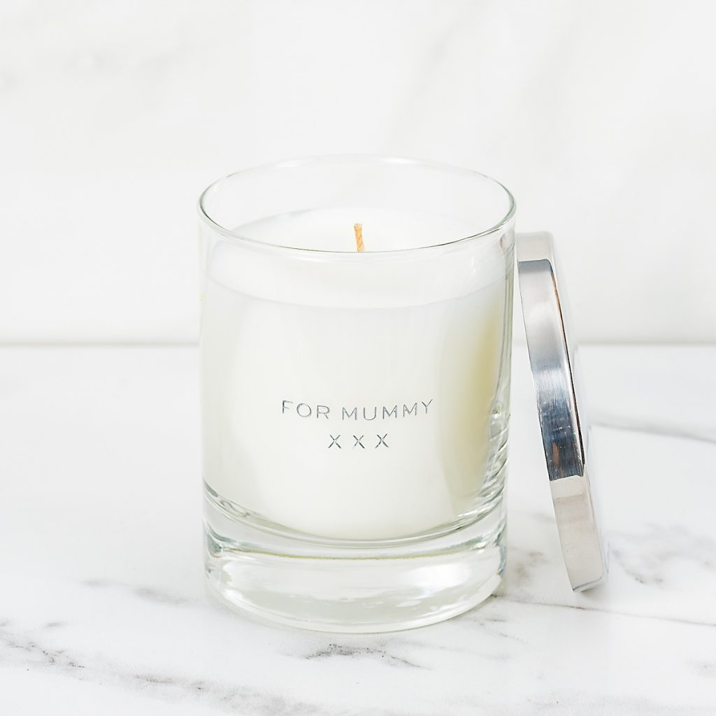 Personalised Candle – Short Message